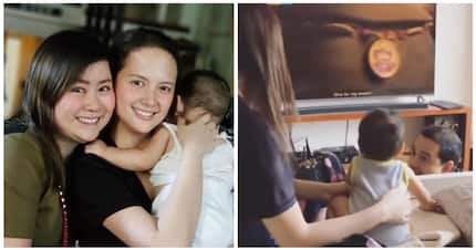 Hiyang si momshie! Ellen Adarna with baby Elias Modesto's picture elicits mixed reactions