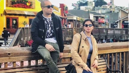 Angel Locsin's romantic vacation in Hollywood with boyfriend Neil Arce