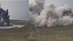 Video ng phreatomagmatic eruption ng Taal Volcano na kuha ng PHIVOLCS, viral na