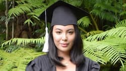 Gretchen Barretto's daughter Dominique finishes second degree with Latin honors