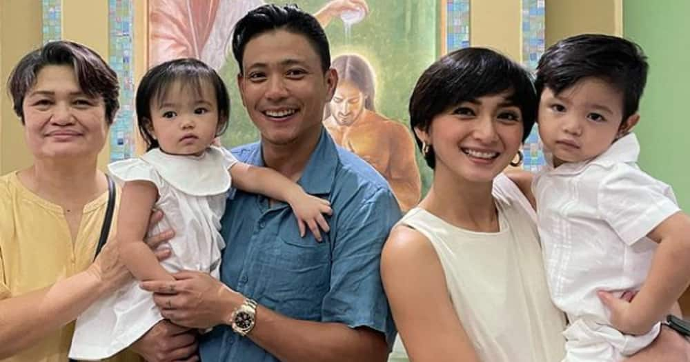Iya Villania & Drew Arellano's two youngest kids get baptized at the same time