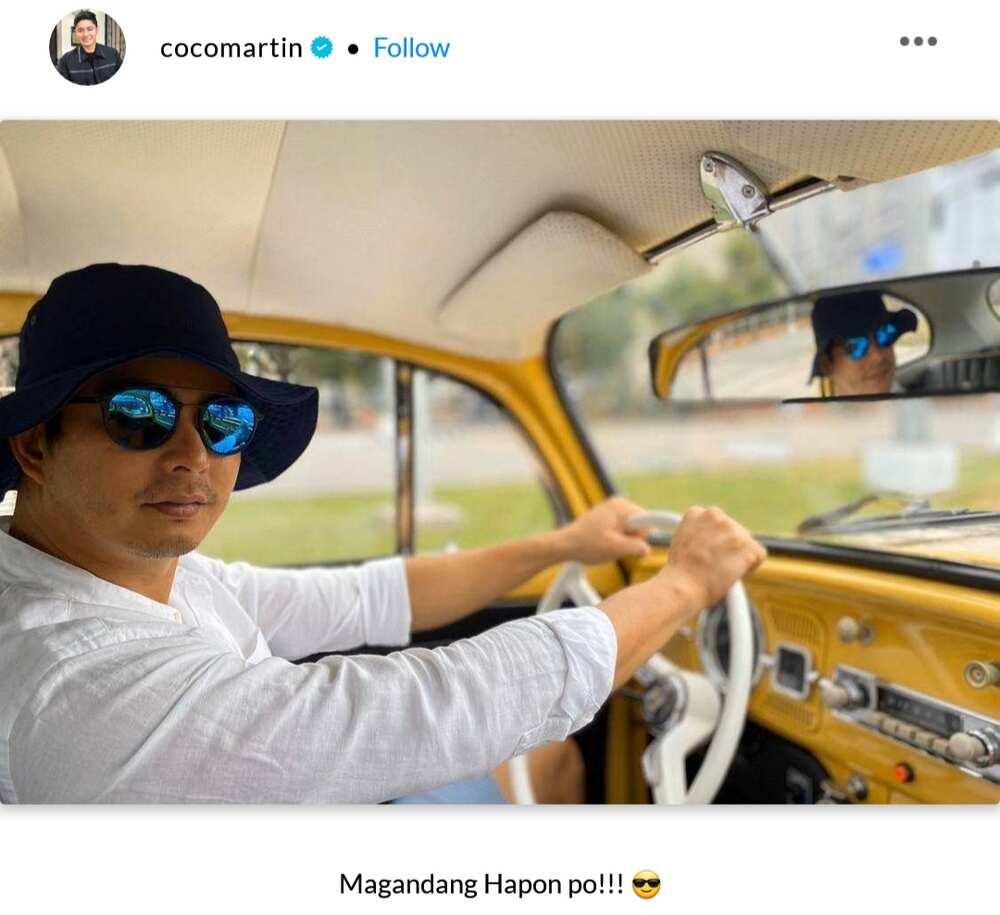 Coco Martin, Julia Montes post photos that match viral Boracay pics