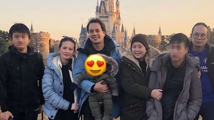 John Lloyd Cruz, Ellen Adarna, & son Elias celebrated New Year at Tokyo Disneyland
