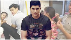 JC De Vera is every inch a doting dad as he bathes daughter and combs her hair