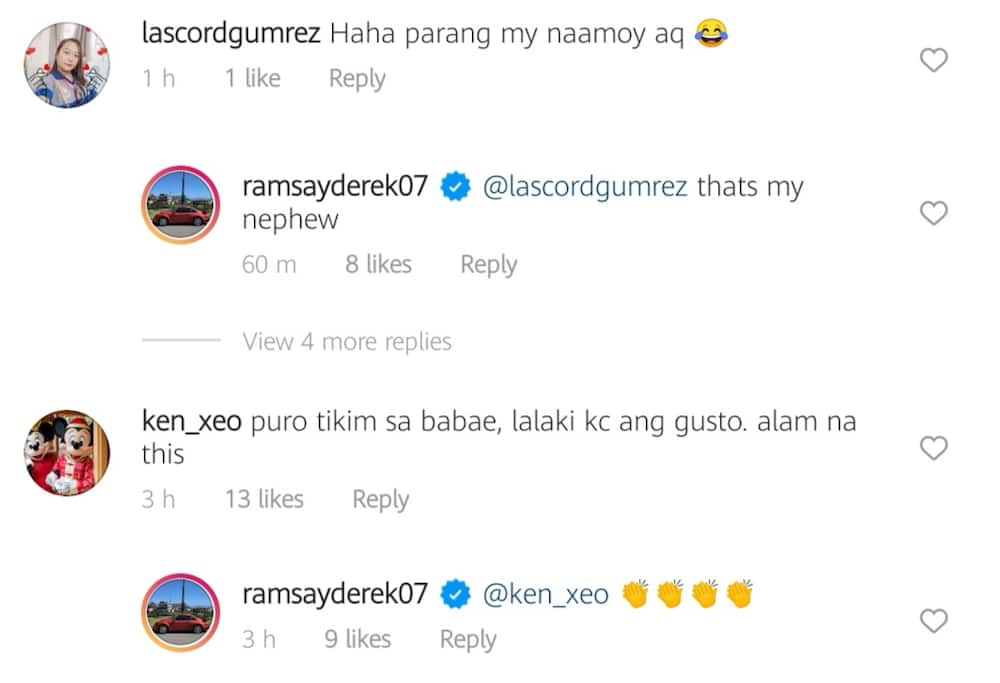 Derek Ramsay shrugs off bashers' malicious comments on his photo with nephew
