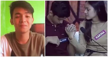 Emotional video statement of Karina Bautista's boyfriend about her and Aljon goes viral
