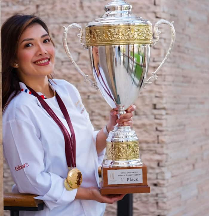 Pinay chef who sculpts 'putik' at a young age, wins international cake design competition