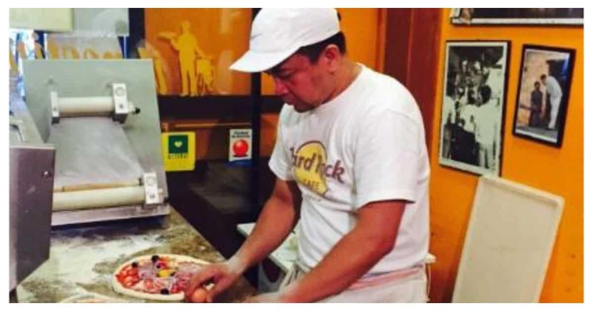 Dating tagahugas ng plato, may-ari na ngayon ng pizza resto sa Italy