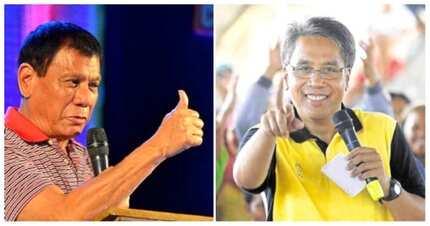 Anyare?! Pangulong Duterte, suportado na si Mar Roxas