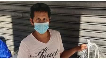 """Officemates, pinakyaw ang mga """"habi bags"""" ng lalaking gumagawa nito sa gilid ng kalsada"""