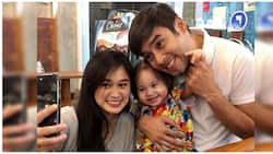 Jopay Paguia shares a cute BTS clip with Baby Alessa