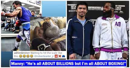 Bakbakan nila Manny Pacquiao at Adrien Broner, inaabangan ng buong mundo