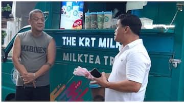 Mitoy Yonting, ibinahaging siya mismo ang driver sa kanyang negosyong mobile milk tea