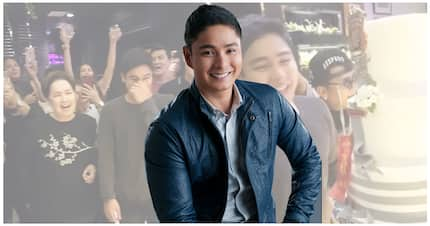 Maraming nagmamahal! Coco Martin gets birthday surprise from co-stars