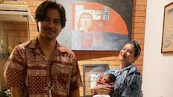 Meryll Soriano finally shows off face of baby with Joem Bascon to public