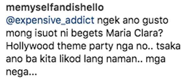 Wag mga anak niya! Sunshine Cruz, di pinalampas komento ng netizen sa suot na gown ni Angelina sa party ng Legaspi twins