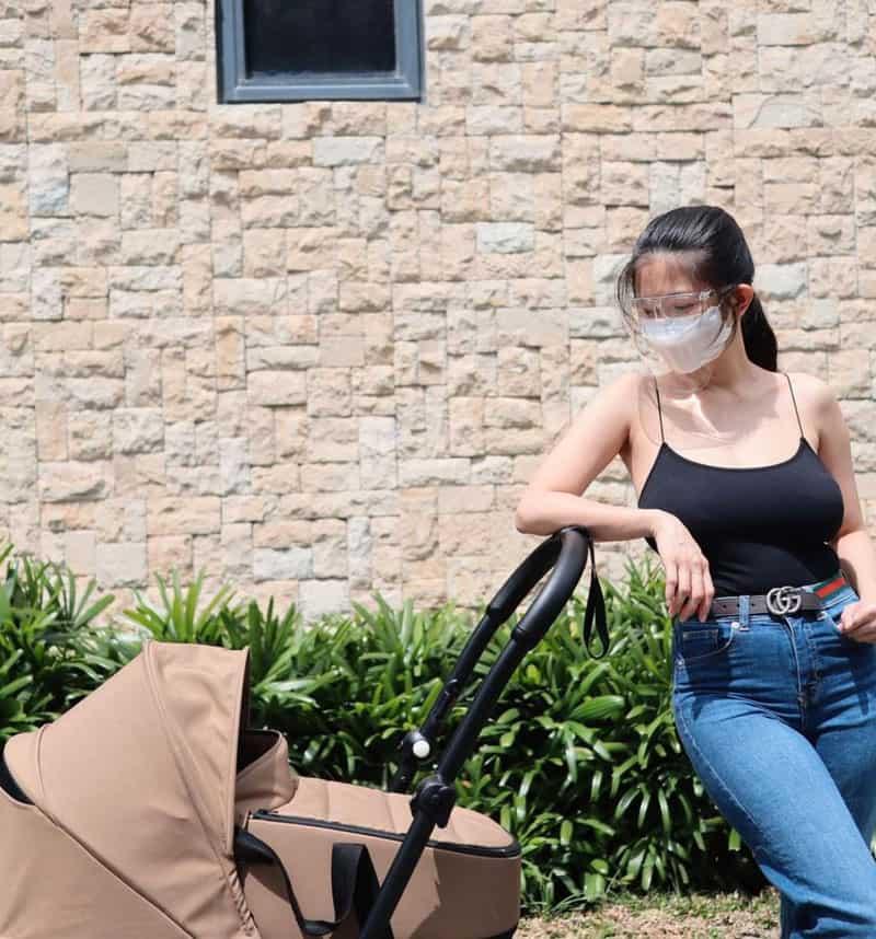 Sheena Halili, parang di-nanganak sa postpartum photos niya