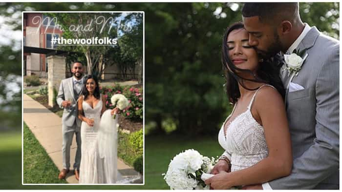 Michelle Madrigal ties the knot with fiancé Troy Woolfolk
