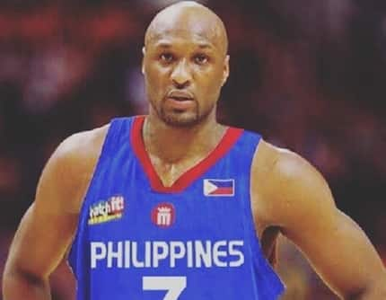 NBA star Lamar Odom to represent Philippines in Dubai tournament