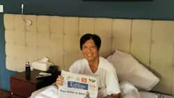 Bongbong Marcos shares photo of him to prove he is 'better' & 'stronger'