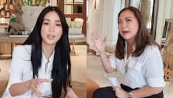 """Heart Evangelista, inunahan ang bashers ni Karen Davila: """"I'm not at all insulted"""""""