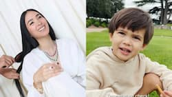"""Celebrities react to Isabelle Daza's son saying he's """"over COVID"""" in viral video"""