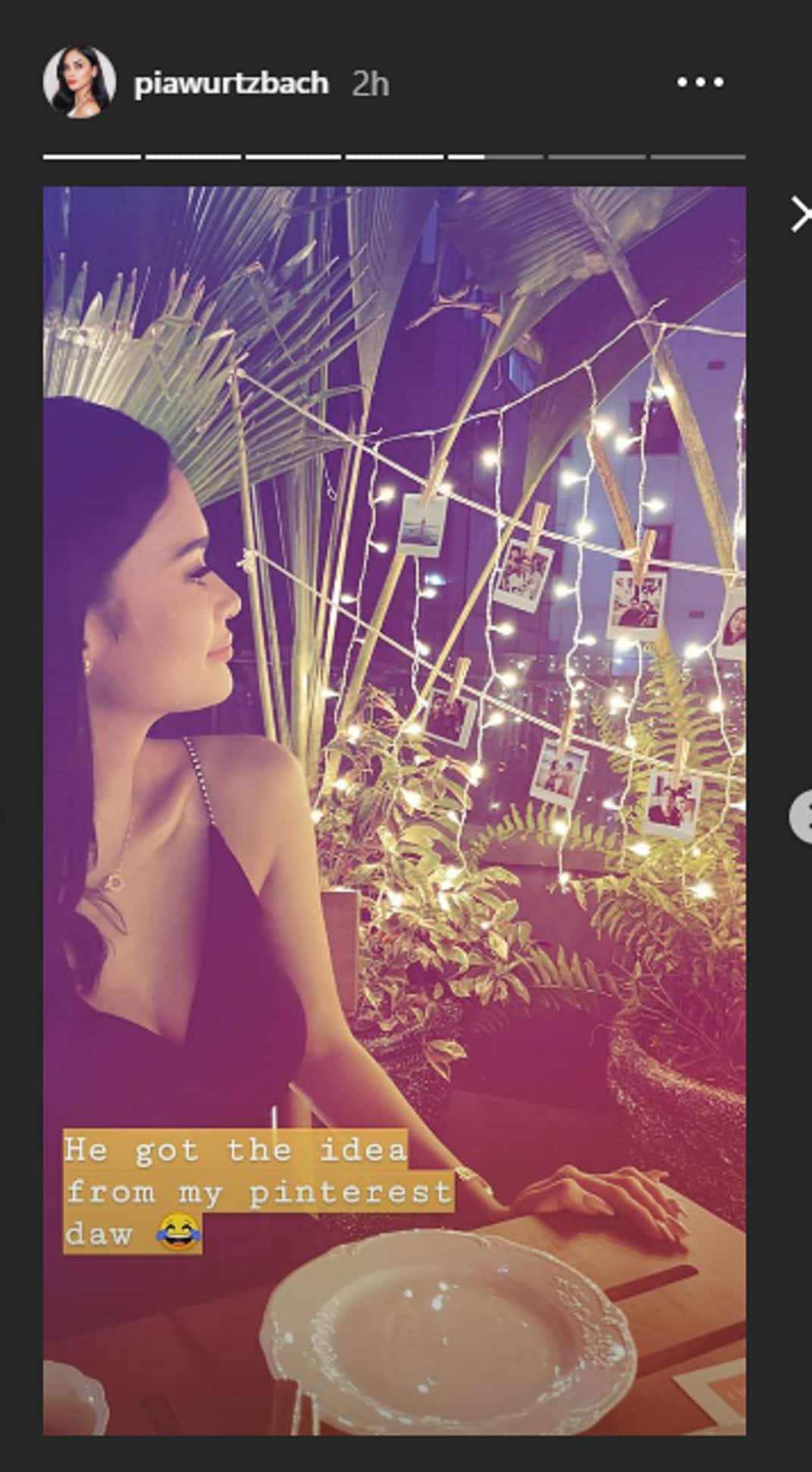 Relationship goals! Pia Wurtzbach and Marlon Stockinger celebrate their 2nd anniversary with a romantic dinner date