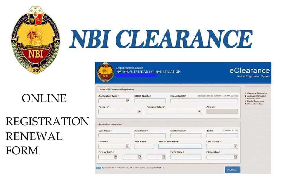 NBI clearance renewal