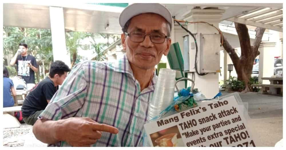 64-anyos na taho vendor, muling nag-viral dahil sa kasipagan sa kabila ng pandemya