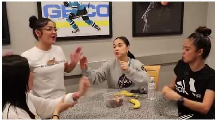 Andrea Briliantes and Francine Diaz bag raid Kim Chiu and Maja Salvador