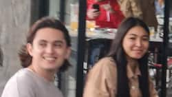 James Reid and Nadine Lustre spotted together in Tagaytay