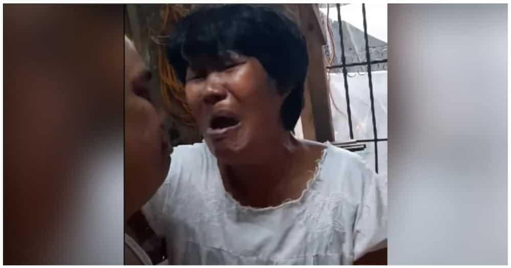 Video ng paglalambing sa anak sa kanyang ina, nagpaluha sa maraming netizens