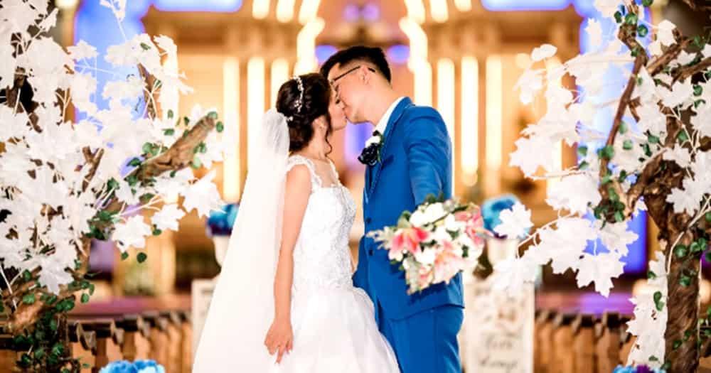 Video ng isang mister na nagkamali sa kanyang wedding vows, kinagiliwan ng netizens