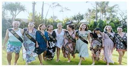 Happy bride-to-be! Super saya ng bridal shower ni Iza Calzado sa Bali, Indonesia