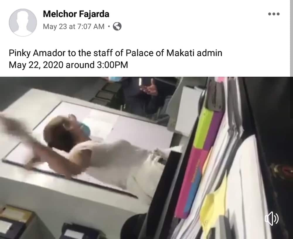 Video of Pinky Amador yelling at hotel staff goes viral, actress complains about being exposed to PUMs