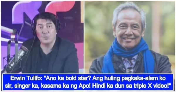 Erwin Tulfo Gets Honest About His Reaction To Jim Paredes
