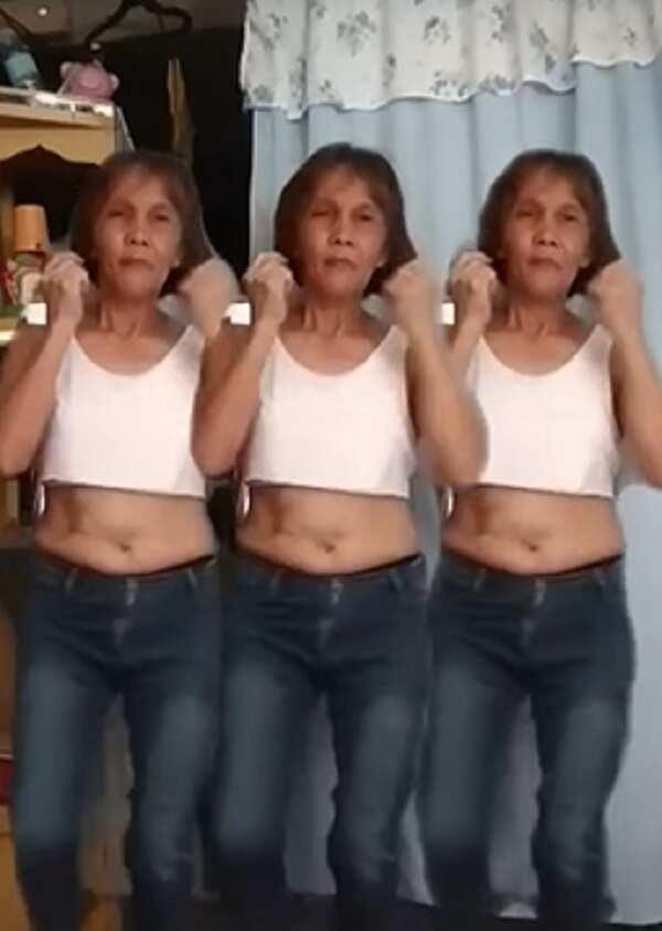 Kabog! Lola, viral dahil daig pa ang ibang kabataan sa kanyang TikTok videos