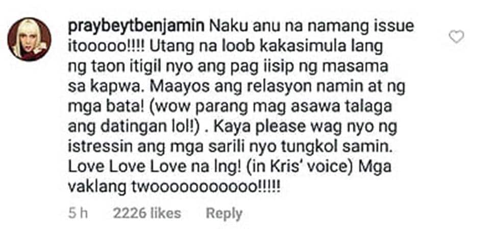 Vice Ganda responds to Kris Aquino's explanation on alleged issue with him & 'Fantastica'