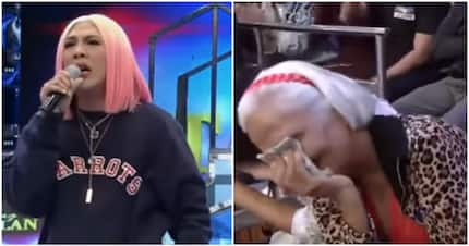Vice Ganda catches a sleeping madlang people in 'Showtime'