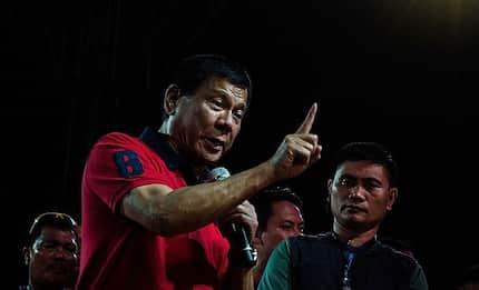 Pangulong Duterte, may banta sa mga kandidato para sa darating na Halalan 2019