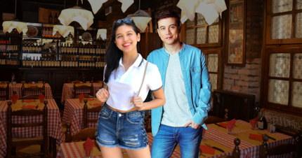Netizens react when Maine Mendoza and Arjo Atayde were spotted together on a restaurant
