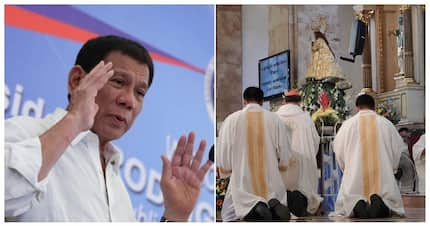 Netizens react on President Duterte's 'do not go to church' remark
