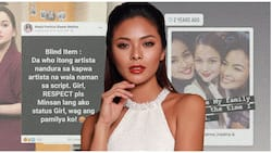 Maxine Medina posts picture with cousins after an actress allegedly spat on her