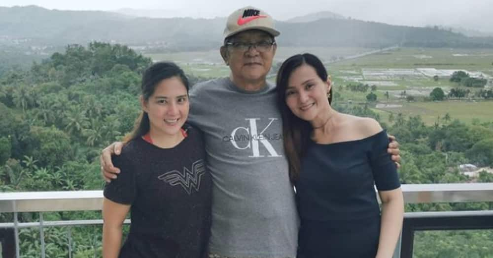 Gladys Reyes' father gets rushed to the hospital due to heart attack