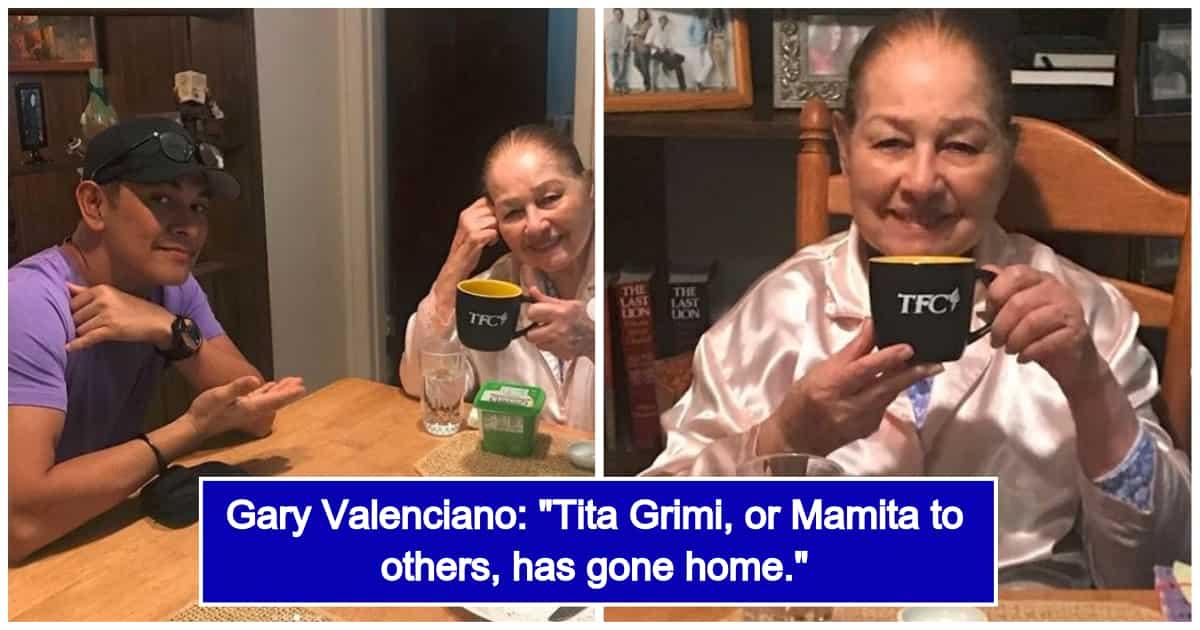Gary Valenciano's Mom Grimilda Santiago-Ortiz Passes Away at the Age