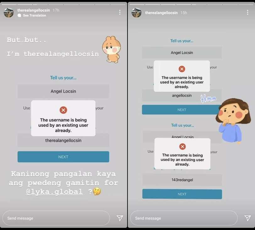 Angel Locsin, humingi ng sorry sa netizen na kumuha ng kanyang username sa Lyka