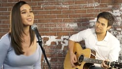 Catriona Gray and Sam Milby perform on Wish 107.5; netizens react
