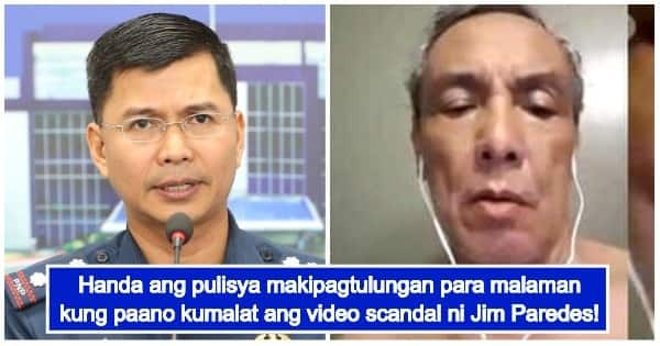 PNP Says They Are Ready To Investigate Jim Paredes' Video
