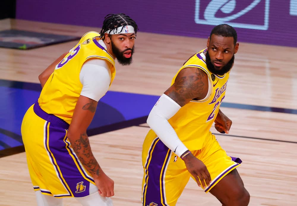 Anthony Davis dominates his first-ever NBA Finals game as Lakers defeats Heat