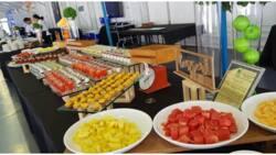 Desserts at salad para sa mga atleta, umani ng samu't saring reaksyon sa socmed